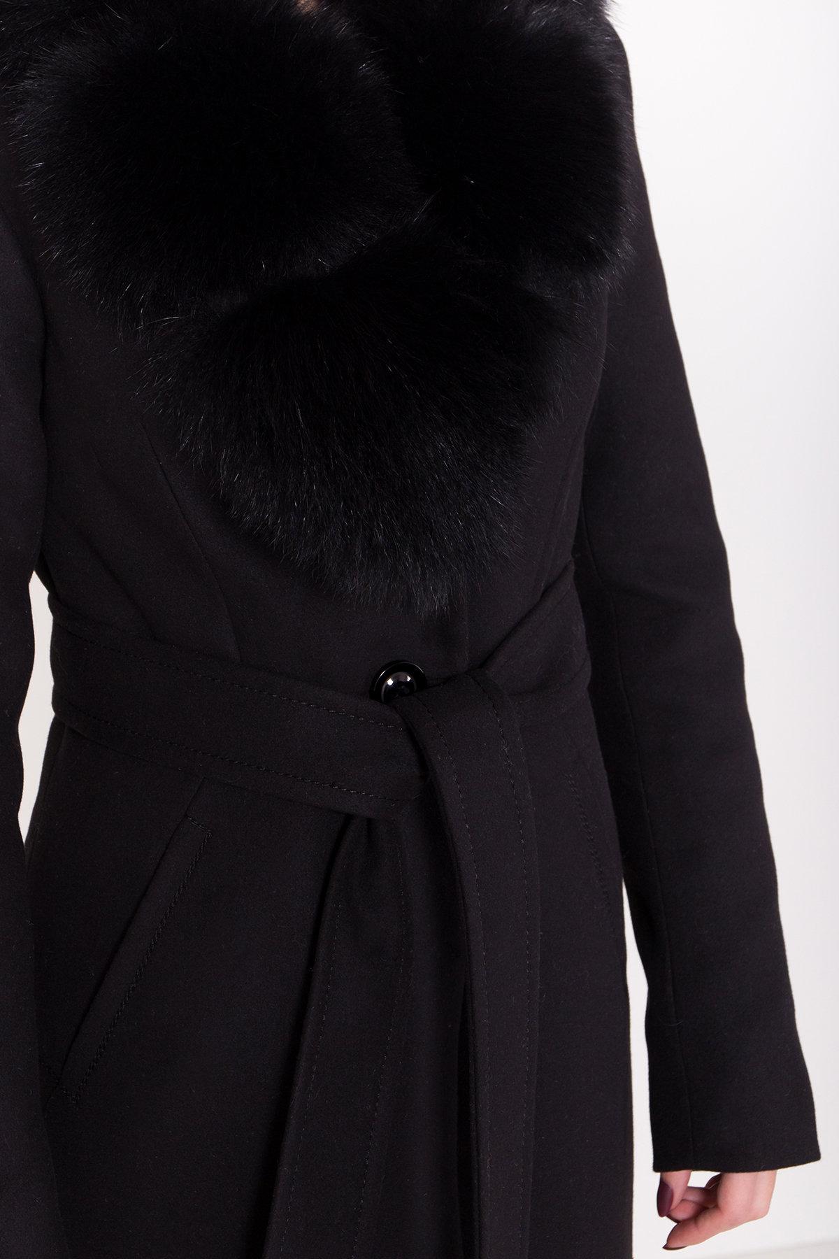 Пальто зима Камила классик 8486 АРТ. 44777 Цвет: Черный Н-1 - фото 6, интернет магазин tm-modus.ru