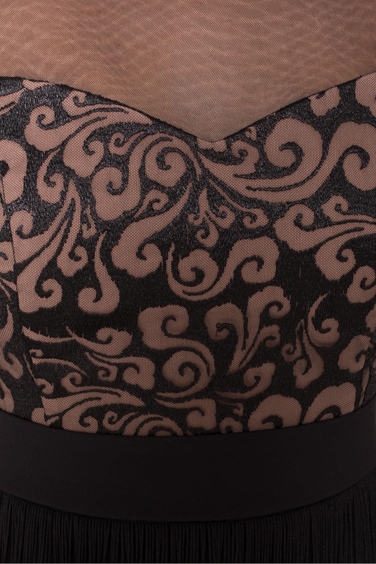 Платье Херви 8560 АРТ. 44884 Цвет: Черный - фото 7, интернет магазин tm-modus.ru