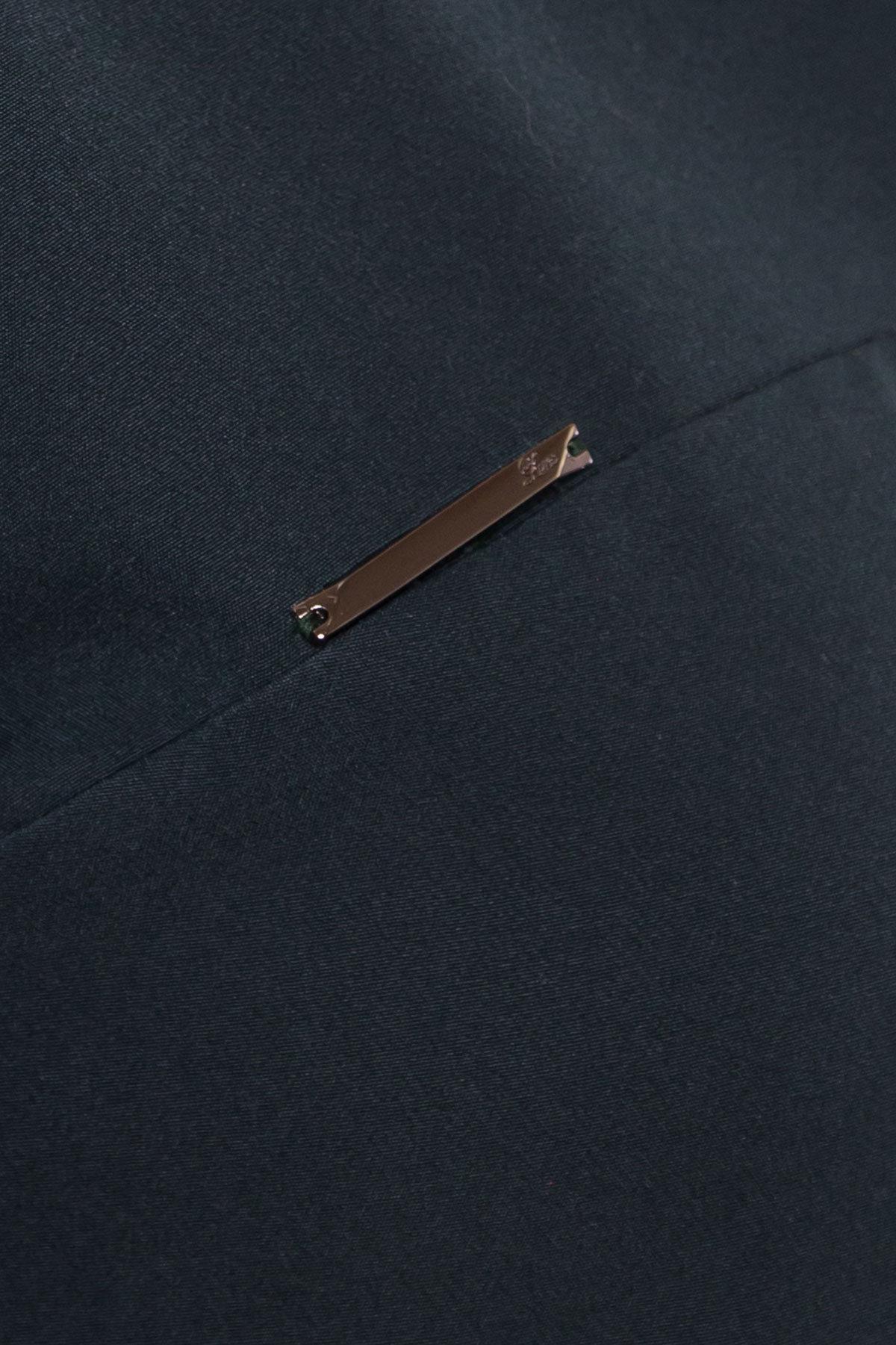 Двухуровневое платье Далафер 8517 АРТ. 44827 Цвет: Зеленый Темный - фото 4, интернет магазин tm-modus.ru