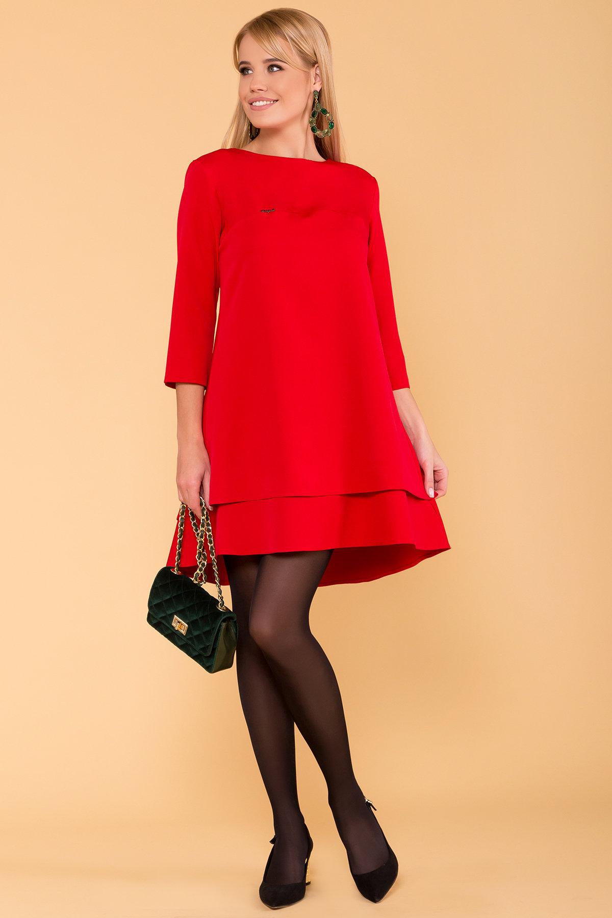 Купить платья оптом в Украине от Modus Двухуровневое платье Далафер 8517