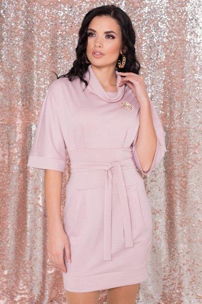 Трикотажное платье Вассаби 8478 Цвет: розовый