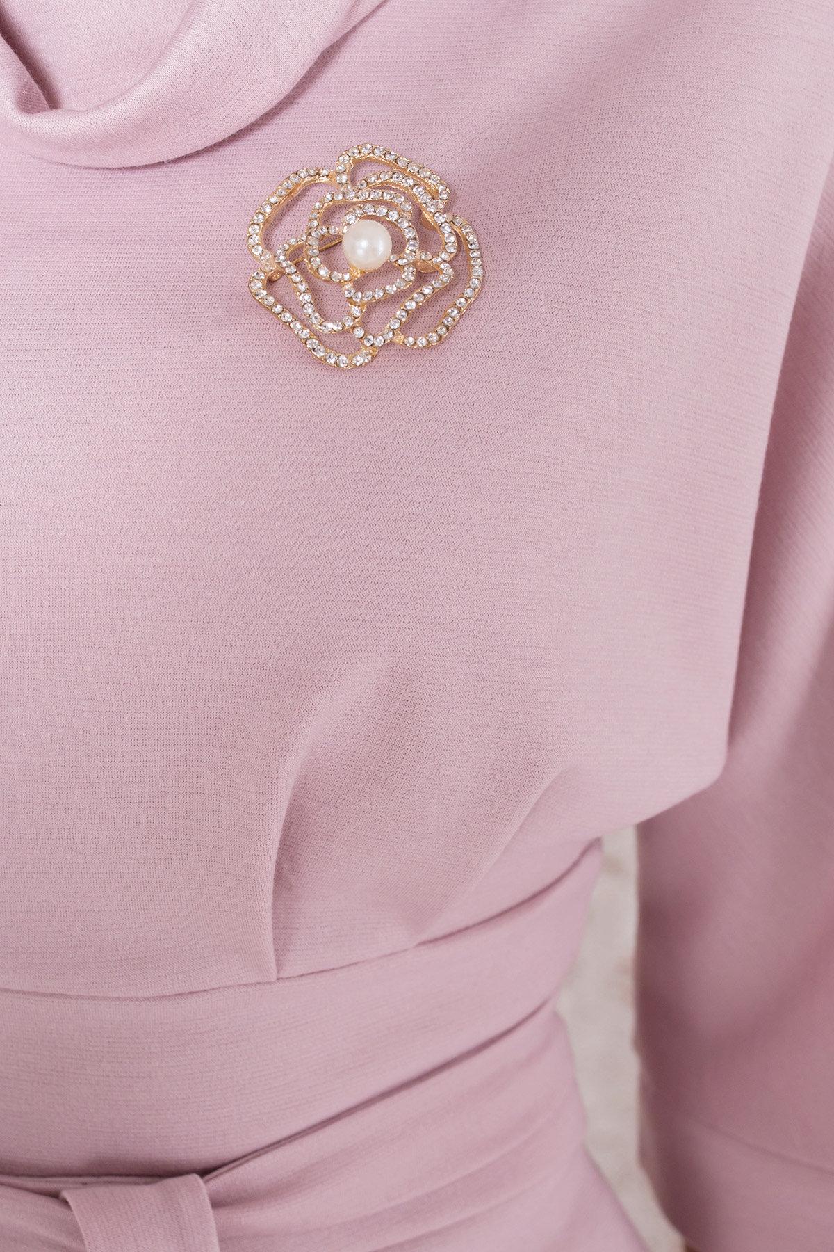 Трикотажное платье Вассаби 8478 АРТ. 44904 Цвет: розовый - фото 8, интернет магазин tm-modus.ru