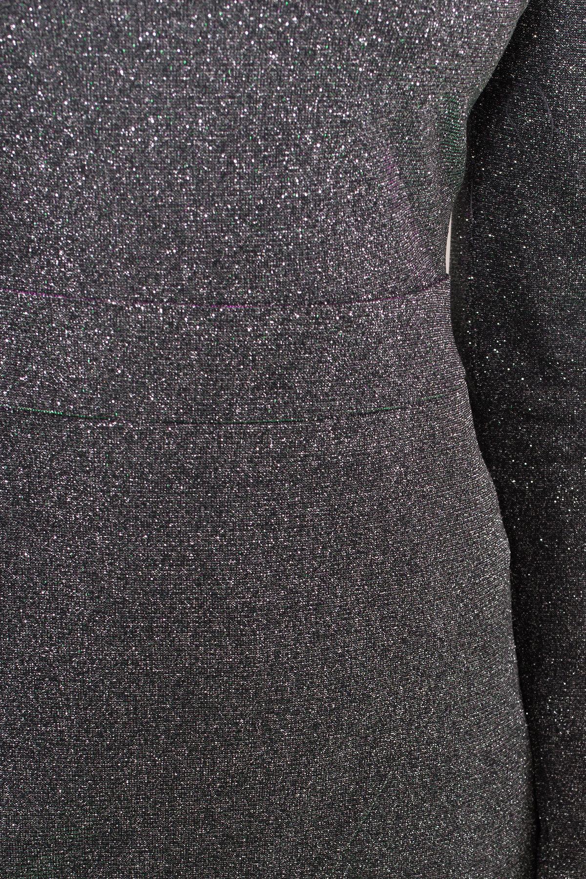 Коктейльное платье Кристал 8346 АРТ. 44902 Цвет: Серебро/изумруд/розовый - фото 7, интернет магазин tm-modus.ru