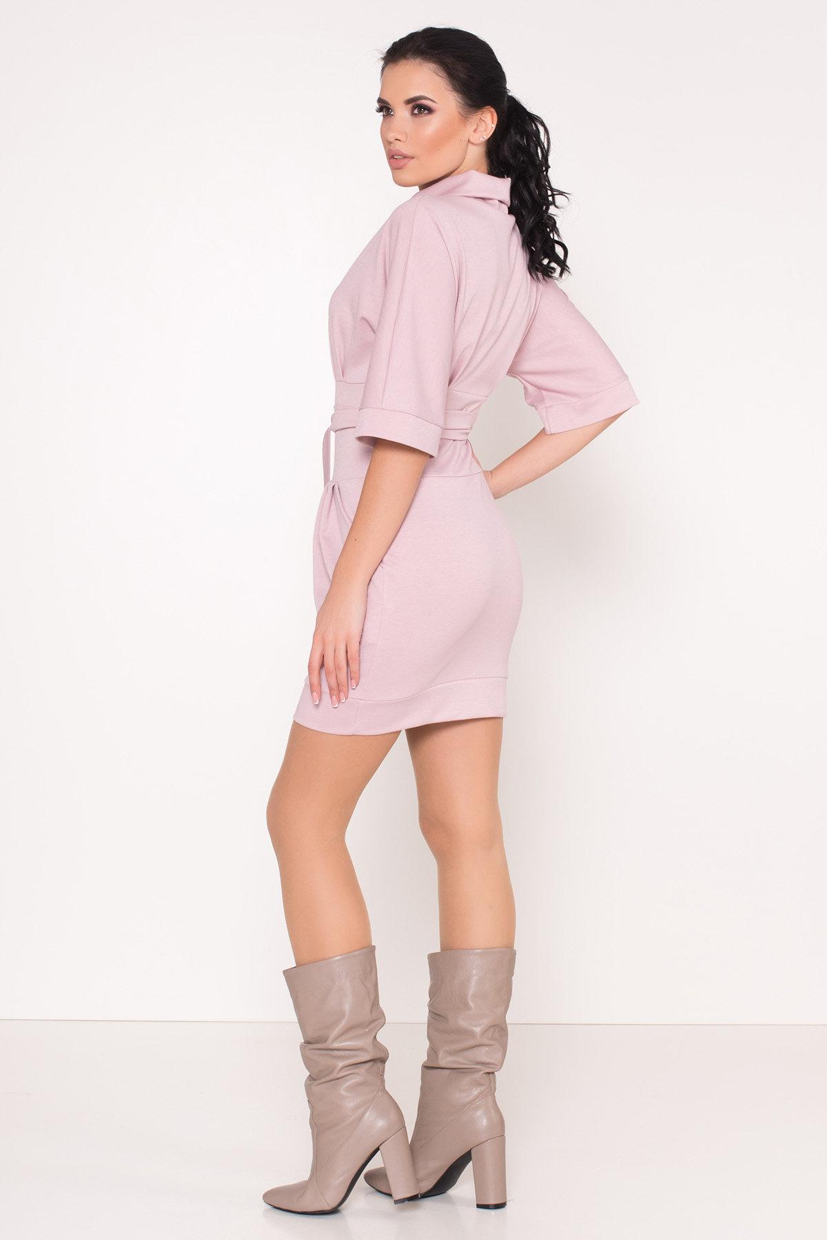 Трикотажное платье Вассаби 8478 АРТ. 44904 Цвет: розовый - фото 5, интернет магазин tm-modus.ru
