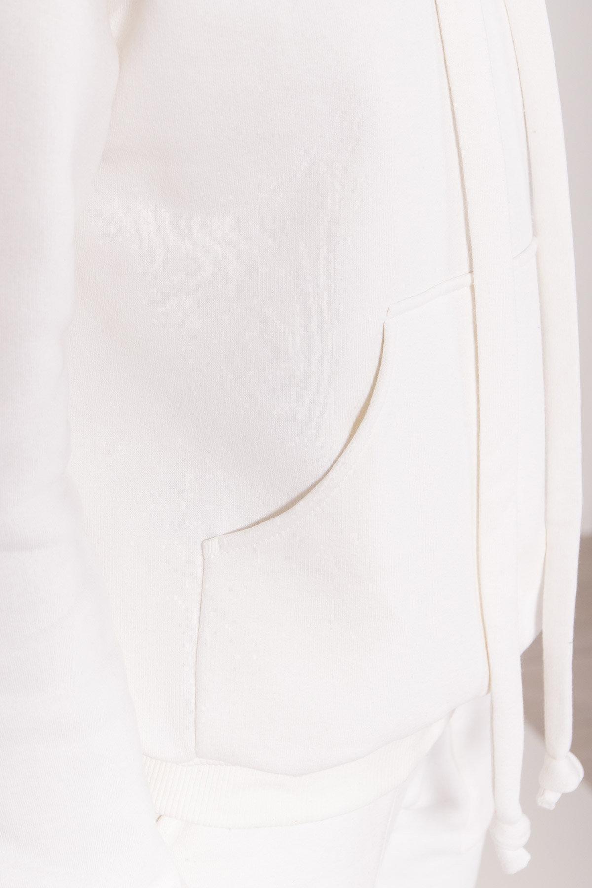 Стильный трикотажный костюм женский Фира 8590 АРТ. 44901 Цвет: Молоко - фото 3, интернет магазин tm-modus.ru