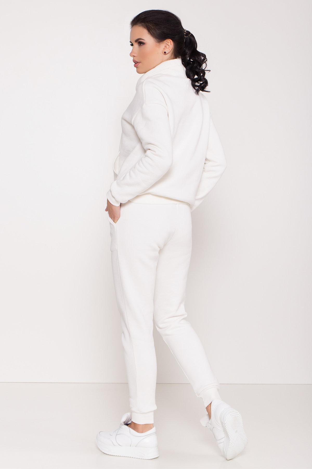 Стильный трикотажный костюм женский Фира 8590 АРТ. 44901 Цвет: Молоко - фото 4, интернет магазин tm-modus.ru