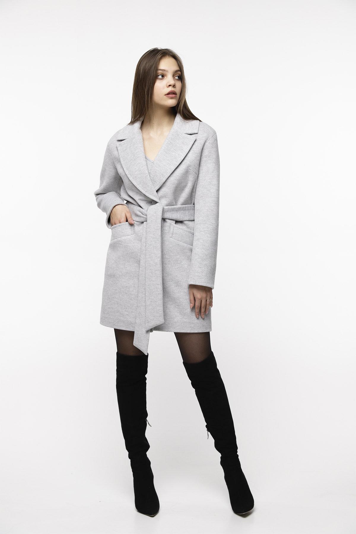 Купить пальто женское демисезонное от Modus Кашемировое пальто Вейсона 8803