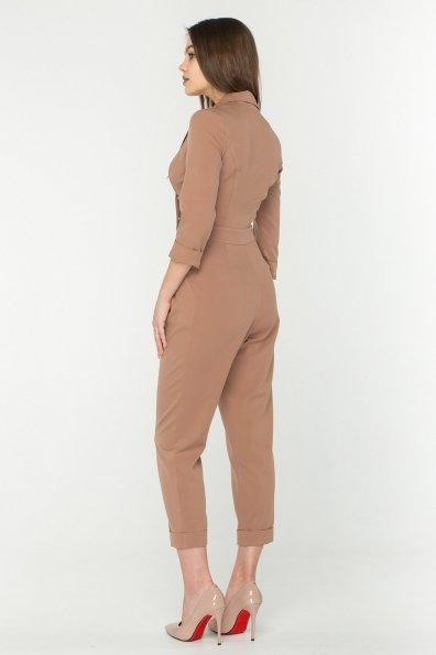 Женский брючный комбинезон Гренада 8816 Цвет: Бежевый