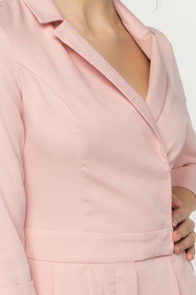 Женский брючный комбинезон Гренада 8816 Цвет: Пудра