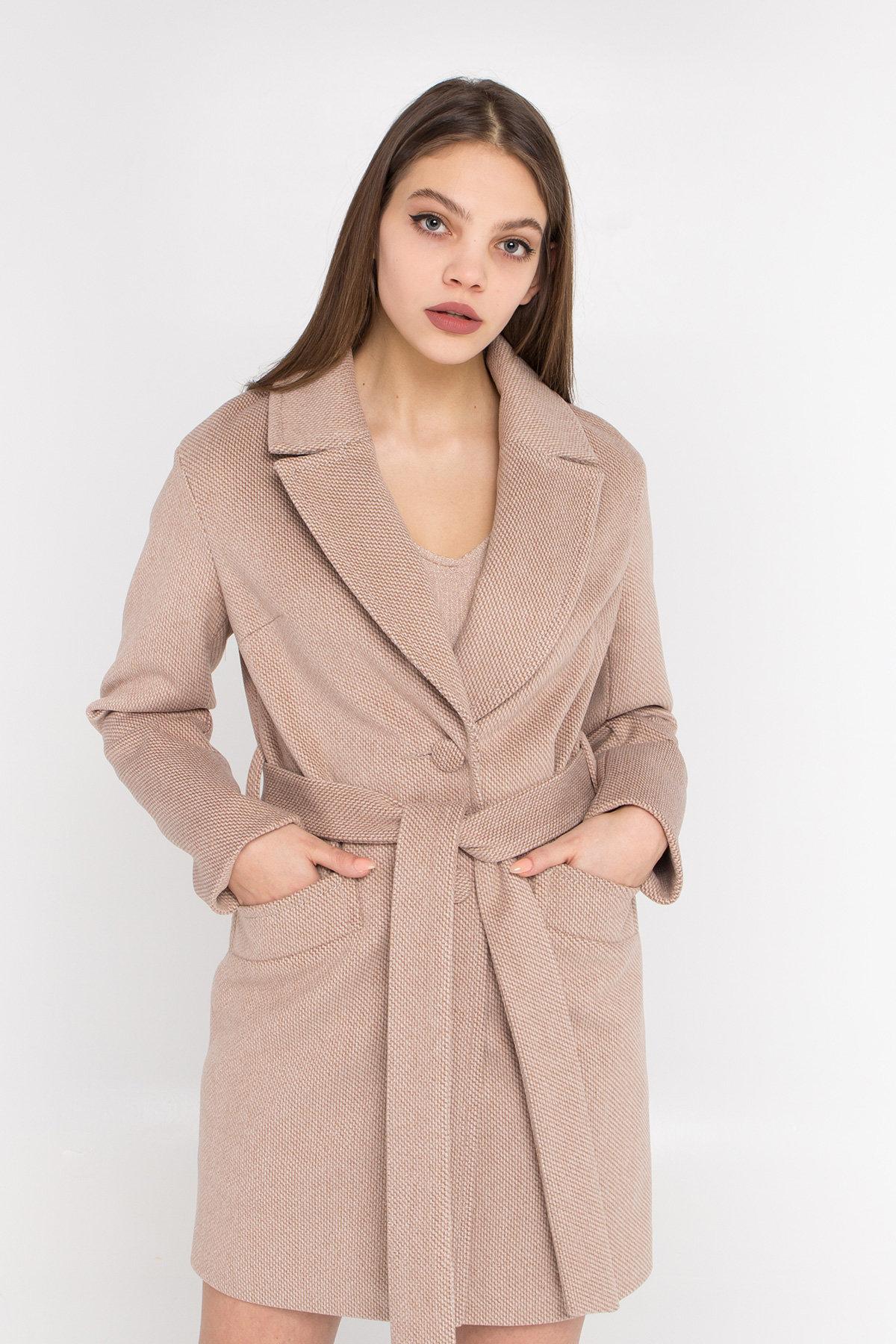 Кашемировое пальто Вейсона 8803 АРТ. 45176 Цвет: Кофе - фото 4, интернет магазин tm-modus.ru