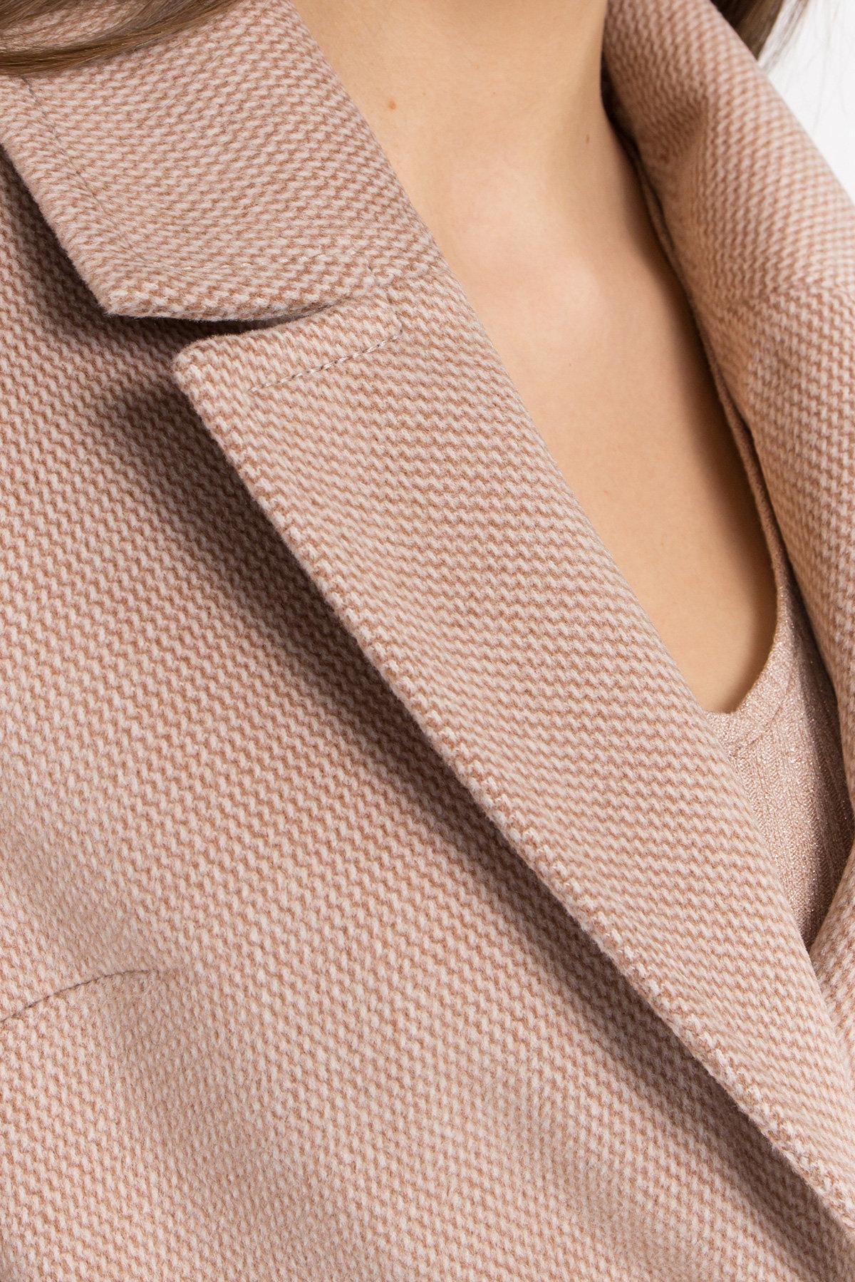 Кашемировое пальто Вейсона 8803 АРТ. 45176 Цвет: Кофе - фото 5, интернет магазин tm-modus.ru