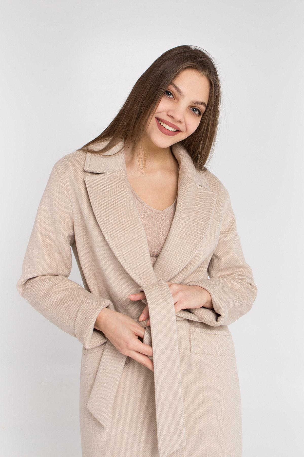 Кашемировое пальто Вейсона 8803 АРТ. 45174 Цвет: Бежевый - фото 9, интернет магазин tm-modus.ru