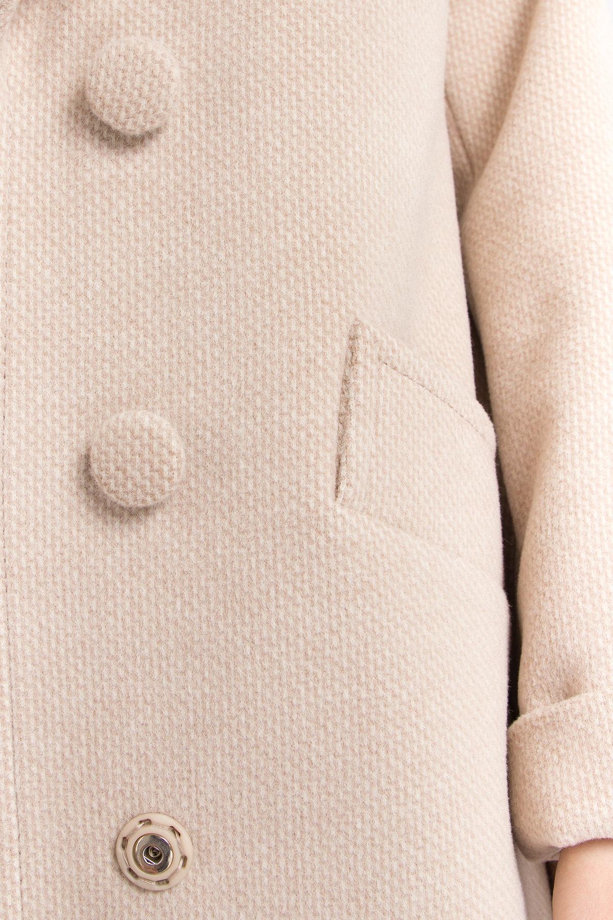 Кашемировое пальто Вейсона 8803 АРТ. 45174 Цвет: Бежевый - фото 10, интернет магазин tm-modus.ru