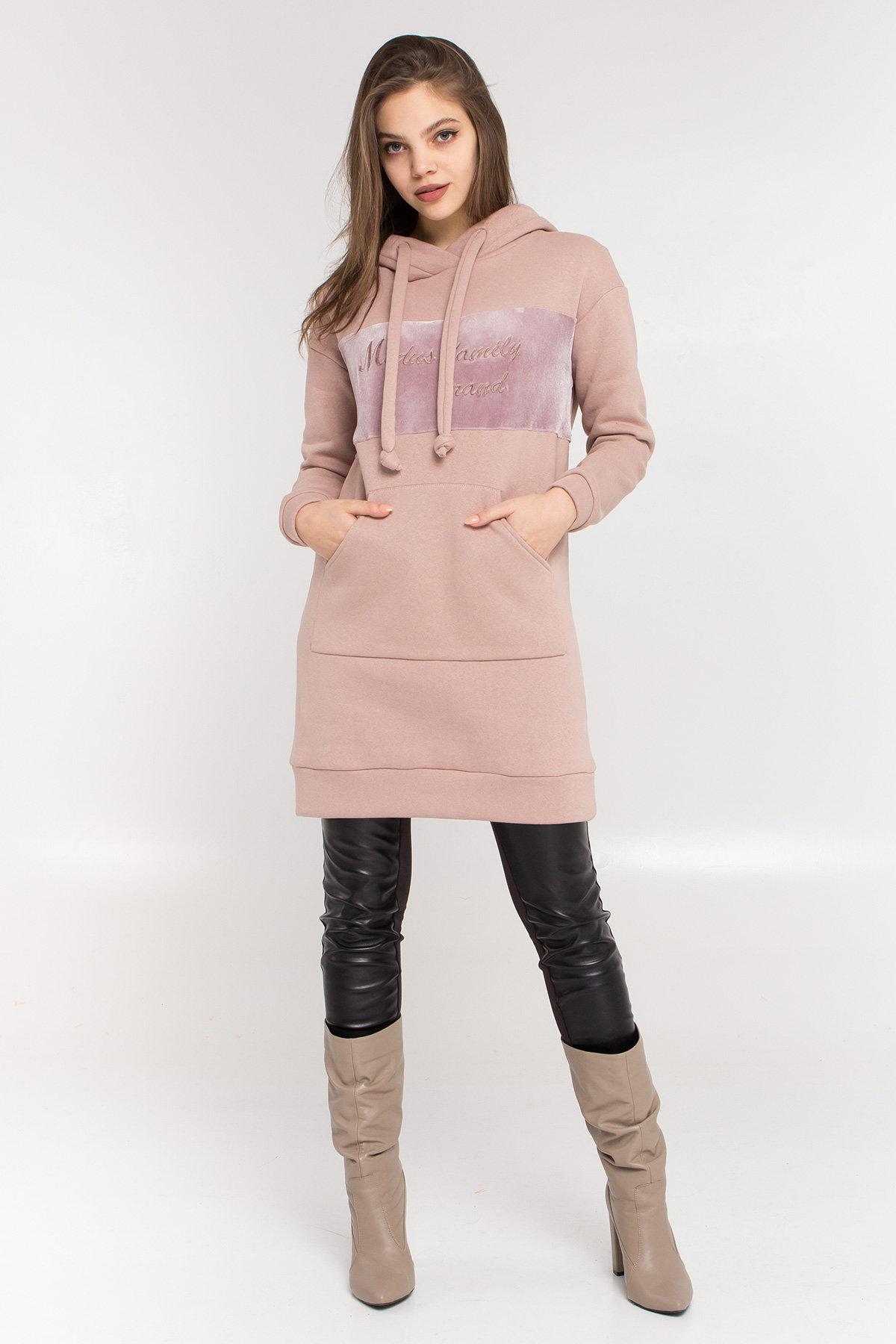 вязаные свитера Платье худи Томми 8703