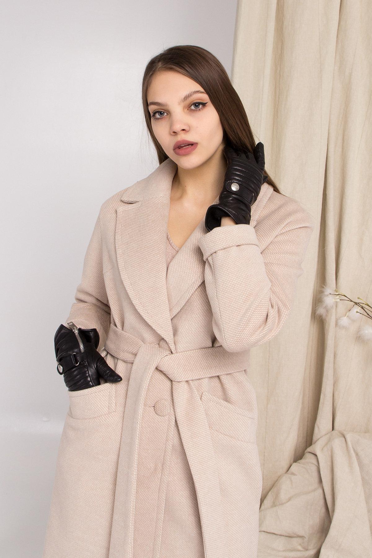 Кашемировое пальто Вейсона 8803 АРТ. 45174 Цвет: Бежевый - фото 6, интернет магазин tm-modus.ru