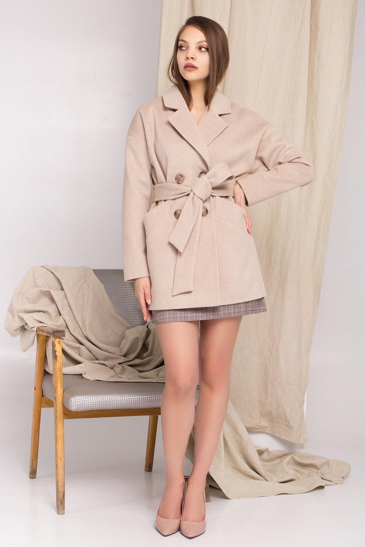 Магазины женского демисезонного пальто от Modus Демисезонное двубортное пальто Бонд 8927