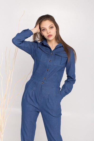 Купити Сафира 170 коттон джинс стрейч комбинезон 8861 оптом і в роздріб