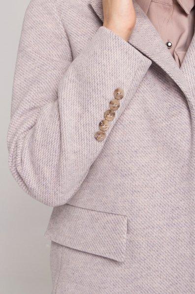 Демисезонное пальто Каир Флеш 8849 Цвет: Серо-бежевый 29