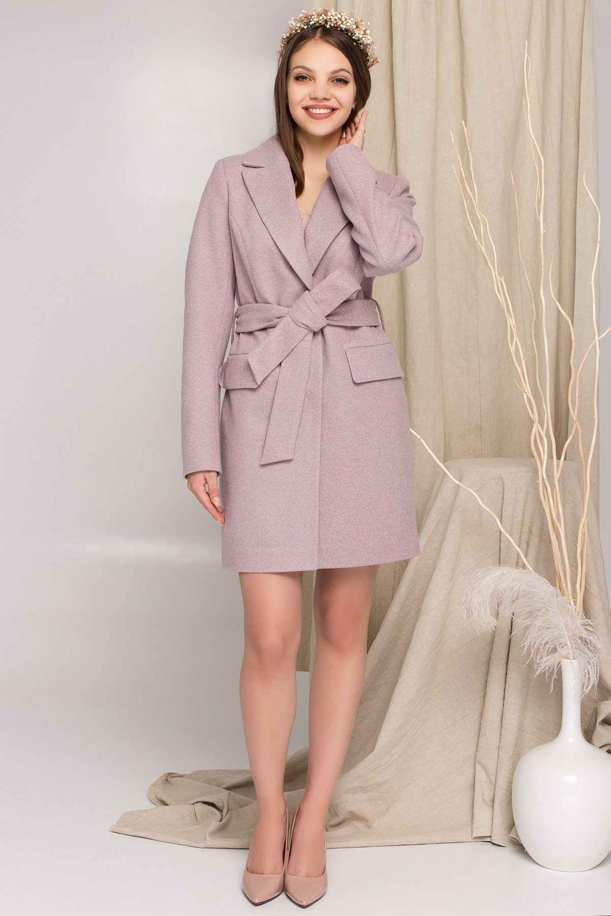 Магазины женского демисезонного пальто от Modus Пальто Корси 8943
