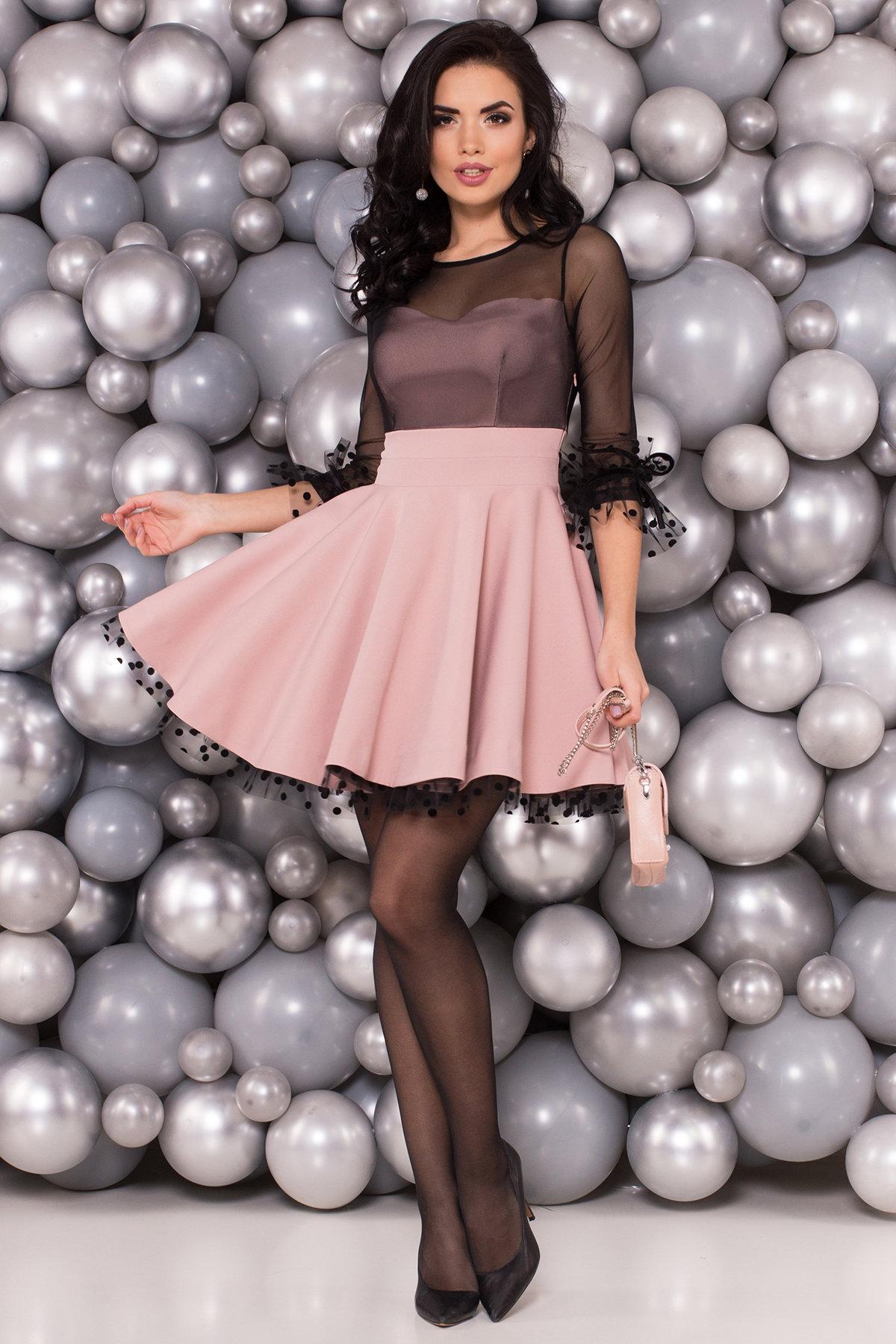 Платья оптом Украина недорого от Модус Нарядное платье Адриана 6022
