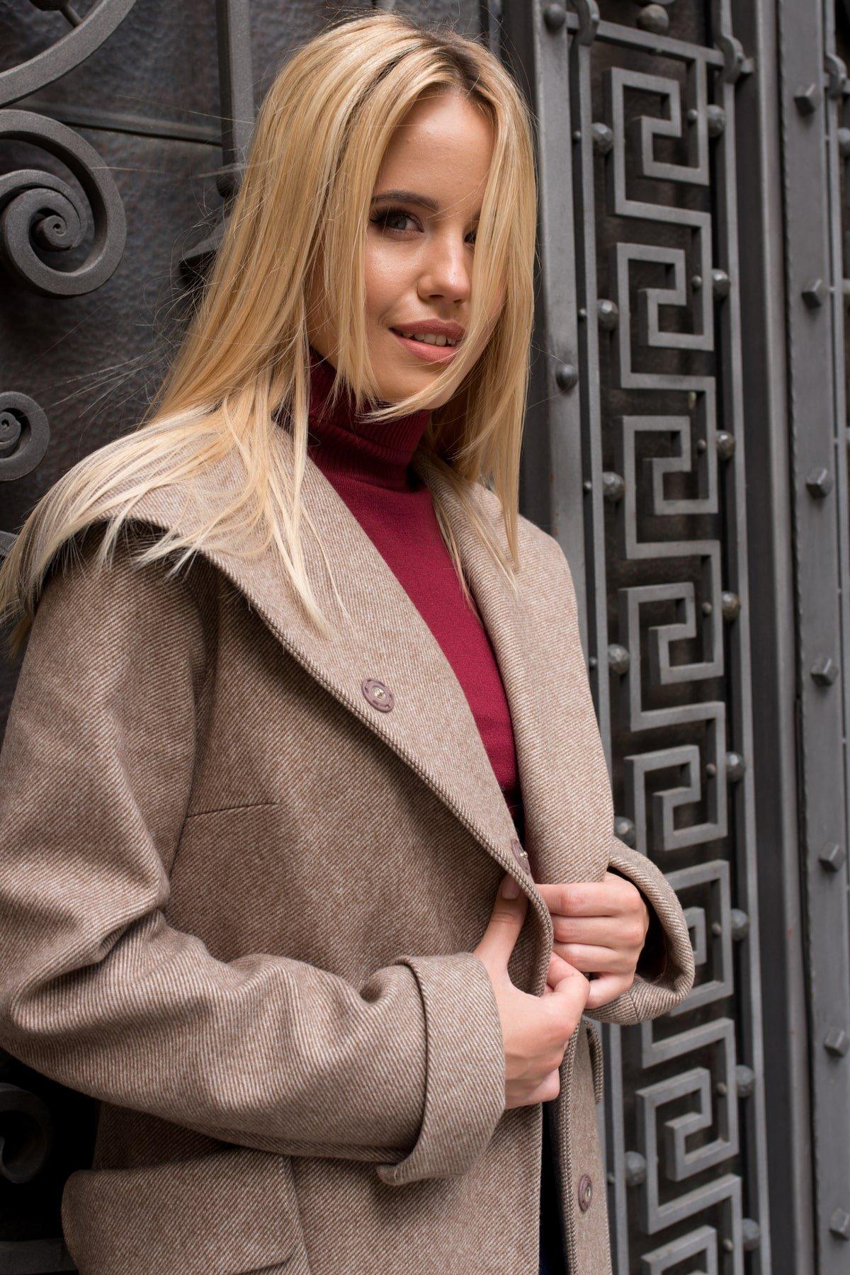 Демисезонное женское пальто от Modus Пальто Анджи 7806