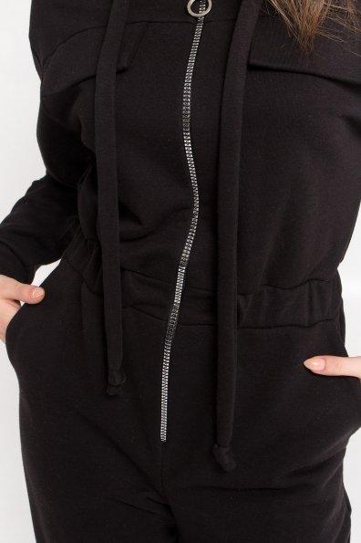 Стильный брючный комбинезон Толедо  8951 Цвет: Черный
