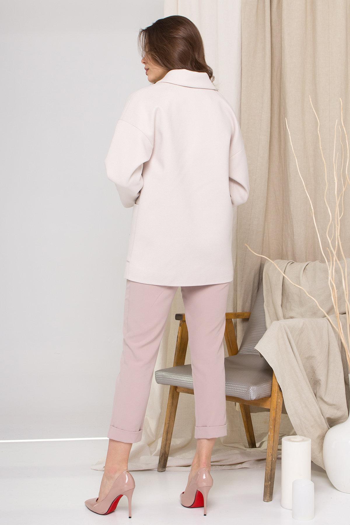 Пальто Мансера 8987 АРТ. 45302 Цвет: Бежевый Светлый - фото 4, интернет магазин tm-modus.ru
