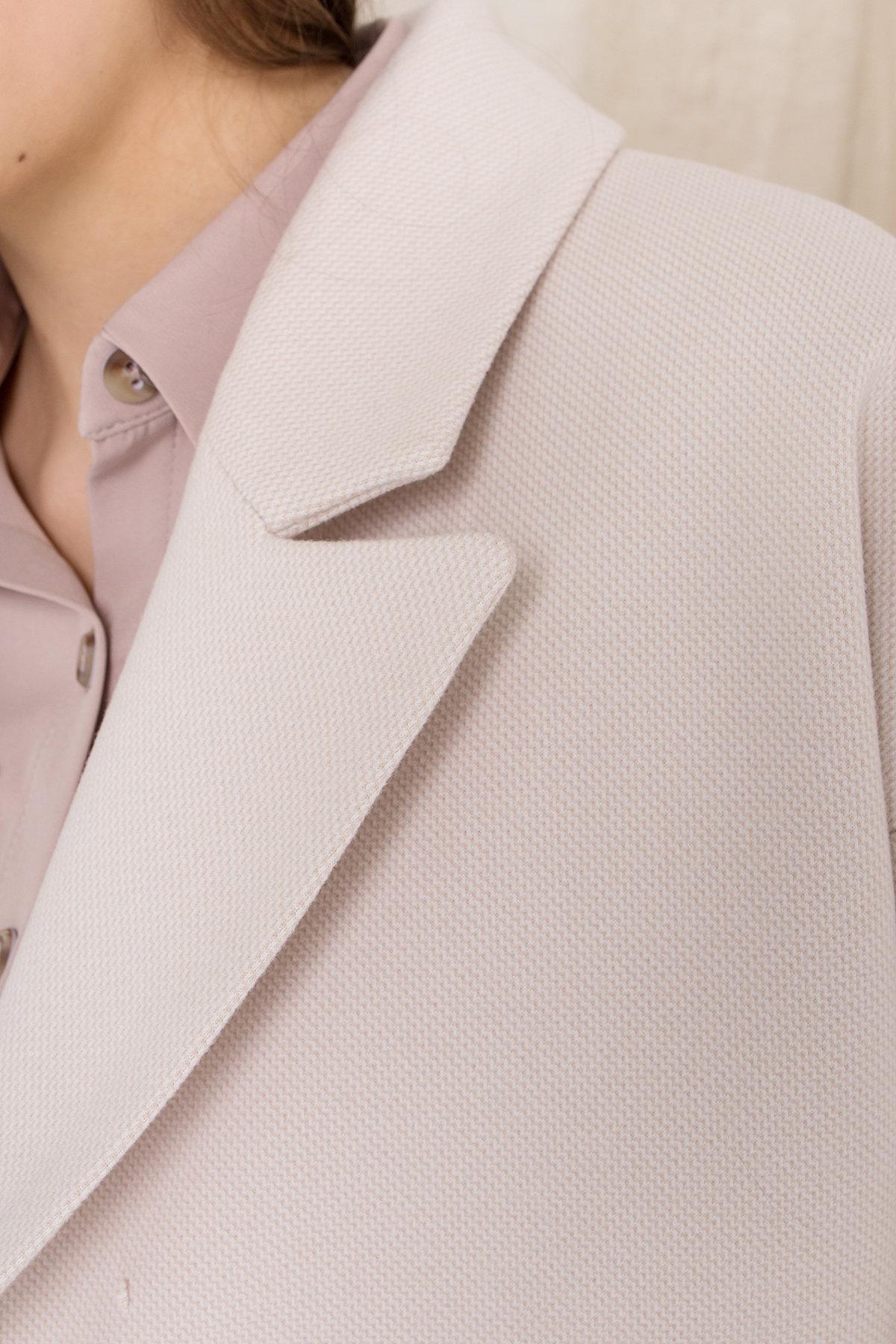 Пальто Мансера 8987 Цвет: Бежевый Светлый