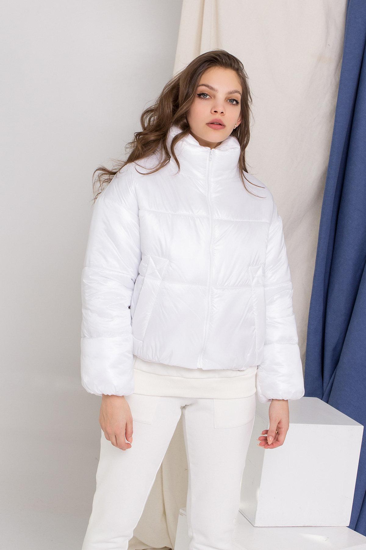 Куртка Драйв 8989 АРТ. 45295 Цвет: Белый - фото 2, интернет магазин tm-modus.ru