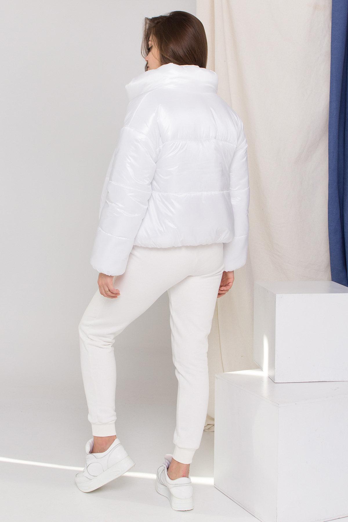Куртка Драйв 8989 АРТ. 45295 Цвет: Белый - фото 4, интернет магазин tm-modus.ru