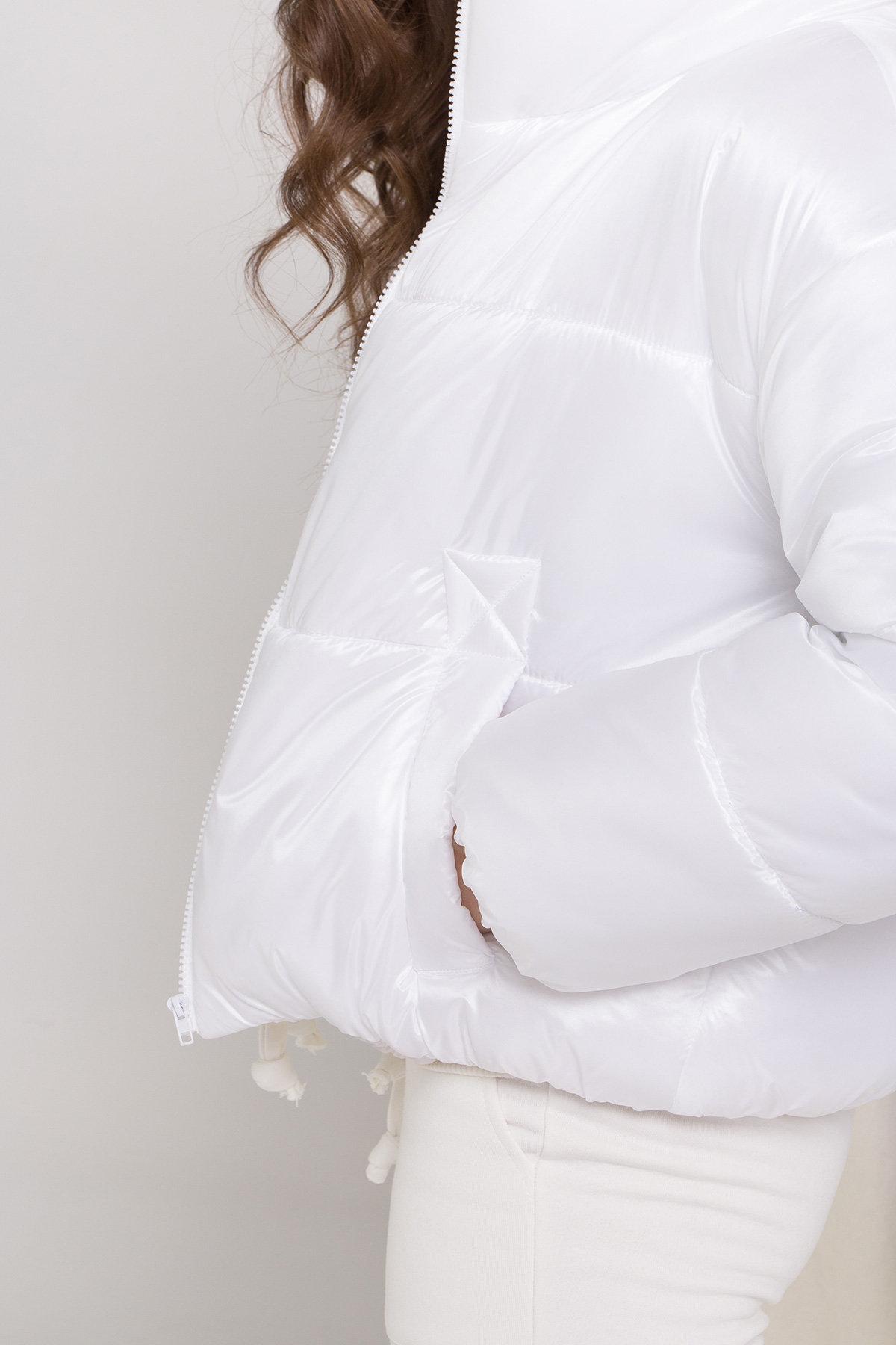 Куртка Драйв 8989 АРТ. 45295 Цвет: Белый - фото 5, интернет магазин tm-modus.ru