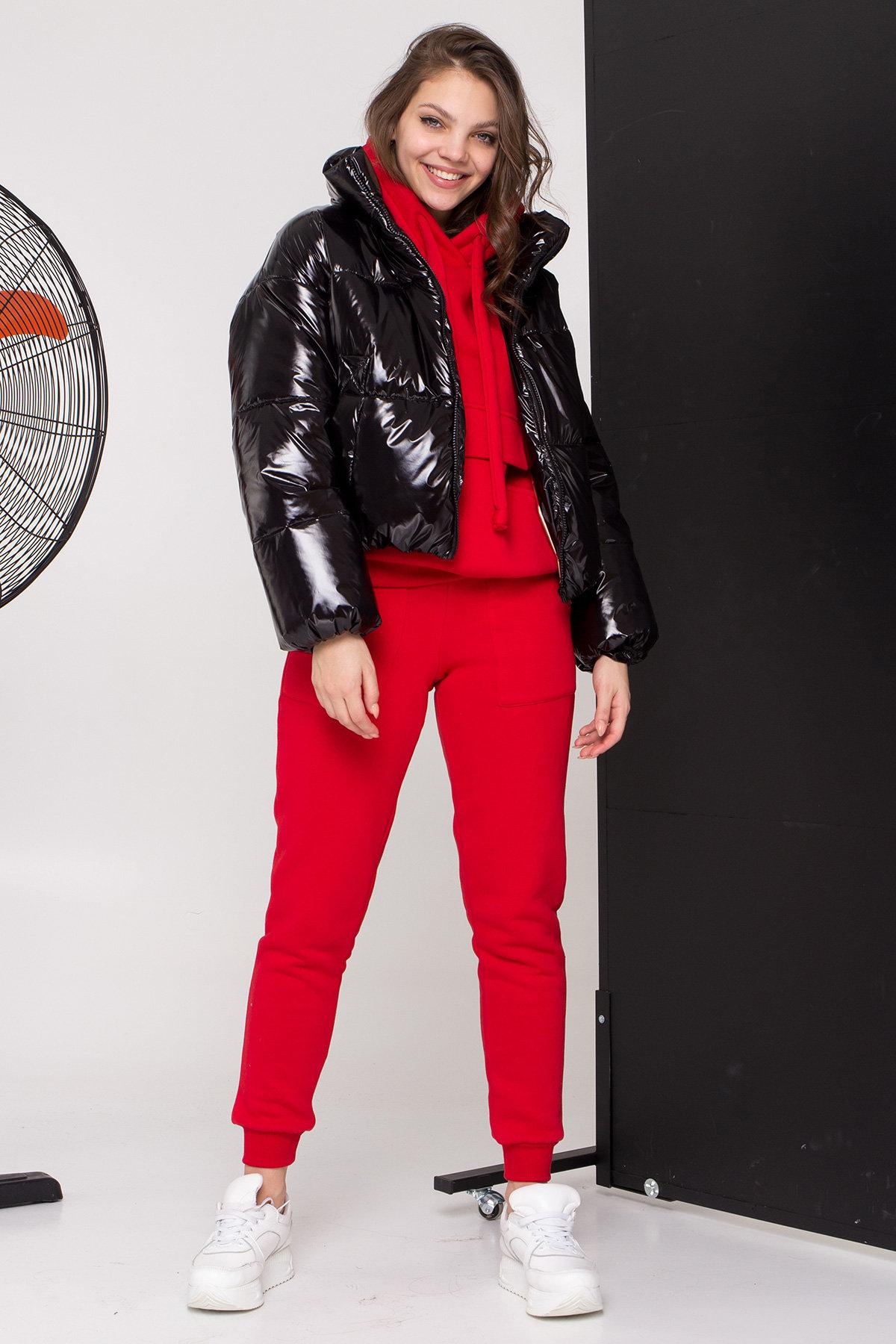 Куртка Драйв 8989 АРТ. 45299 Цвет: Черный - фото 1, интернет магазин tm-modus.ru