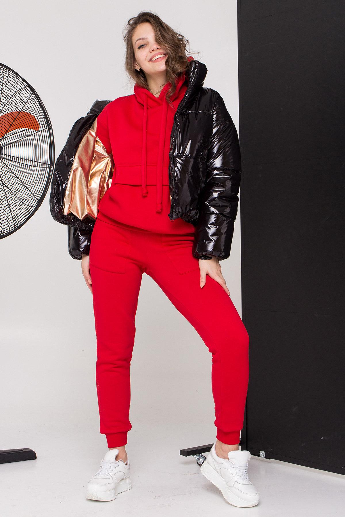 Куртка Драйв 8989 АРТ. 45299 Цвет: Черный - фото 4, интернет магазин tm-modus.ru