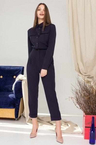 Купить Сафира костюмка креп стрейч комбинезон 8953 оптом и в розницу