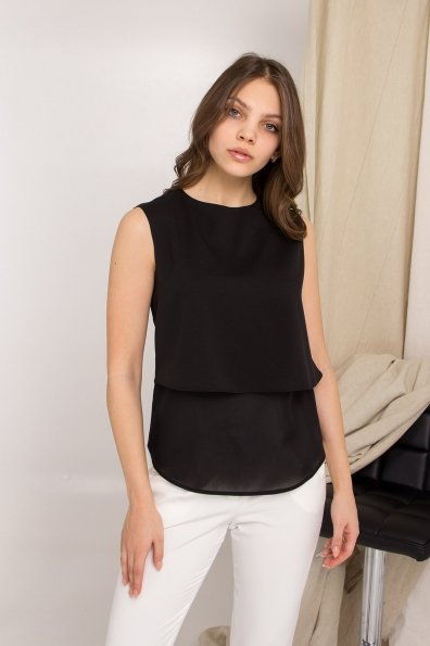 Купить Арома лайт креп шифон блуза 8835 оптом и в розницу