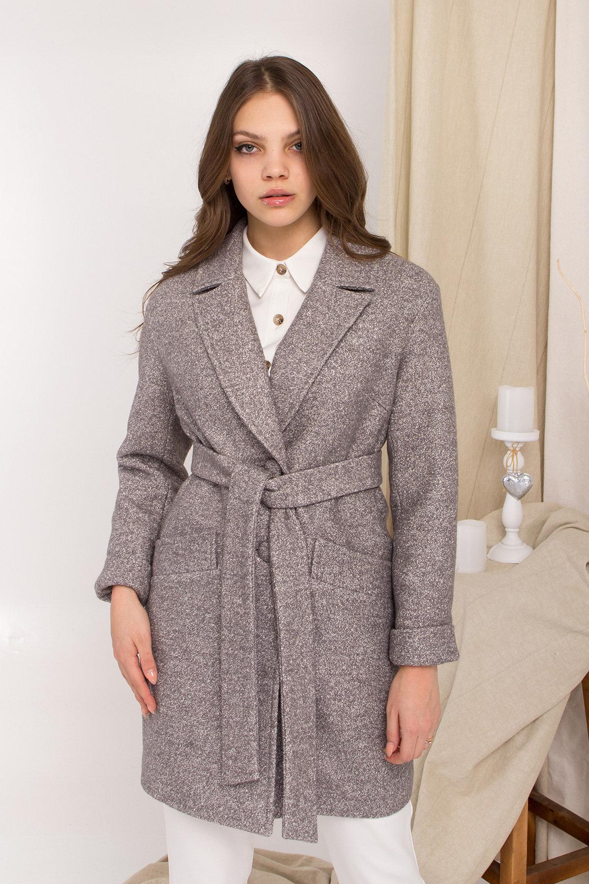 Пальто Вейсона 9042 АРТ. 45364 Цвет: Серый Светлый 20 - фото 4, интернет магазин tm-modus.ru