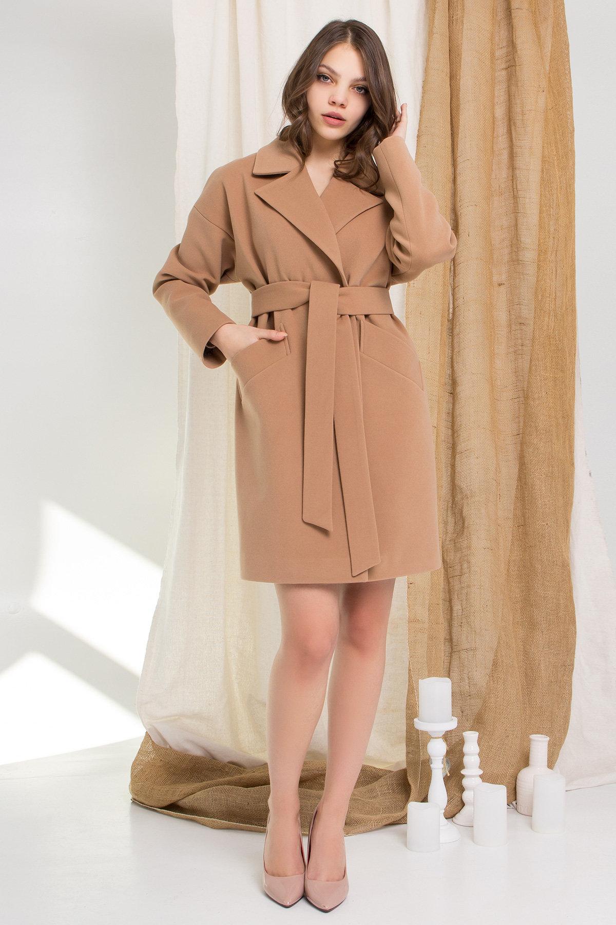 Пальто Сенсей 9006 АРТ. 45318 Цвет: Кемел - фото 8, интернет магазин tm-modus.ru