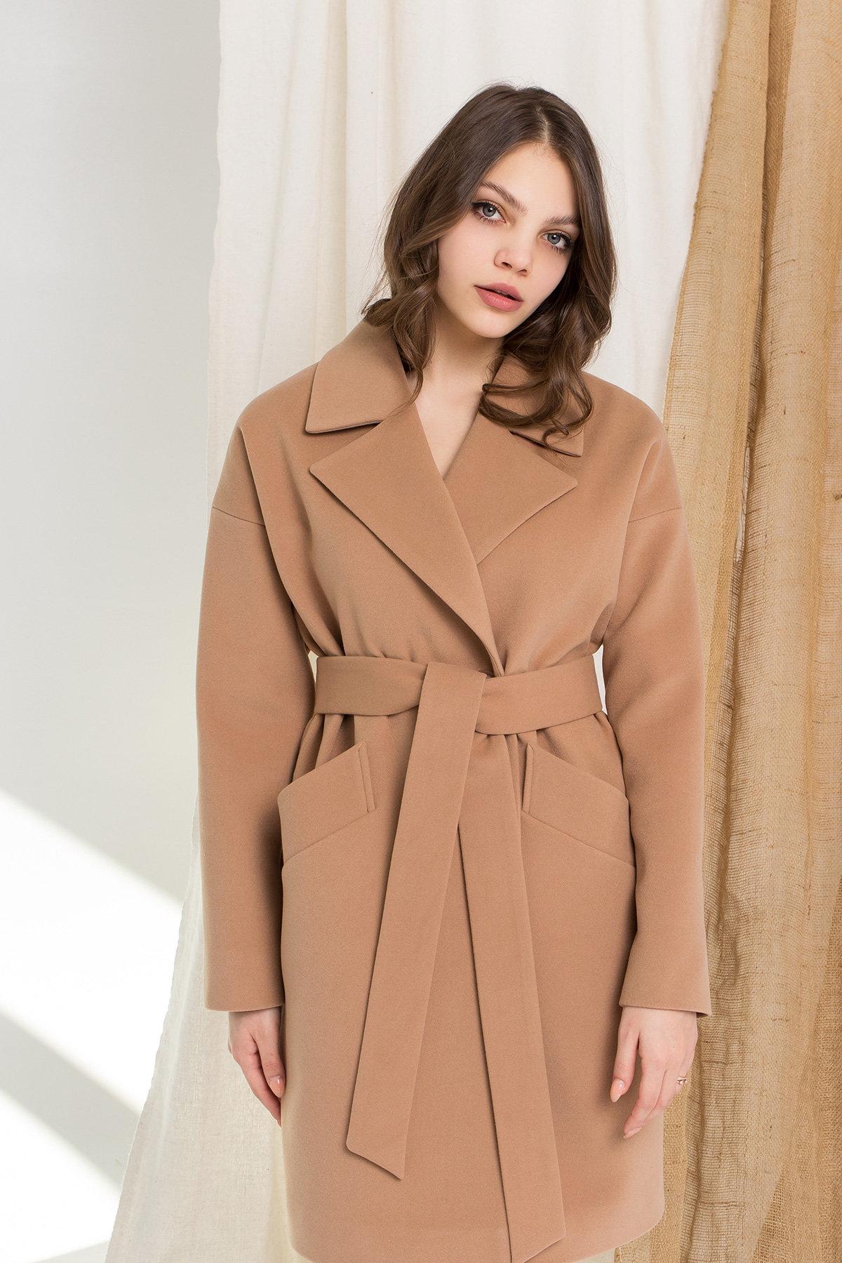 Пальто Сенсей 9006 АРТ. 45318 Цвет: Кемел - фото 10, интернет магазин tm-modus.ru