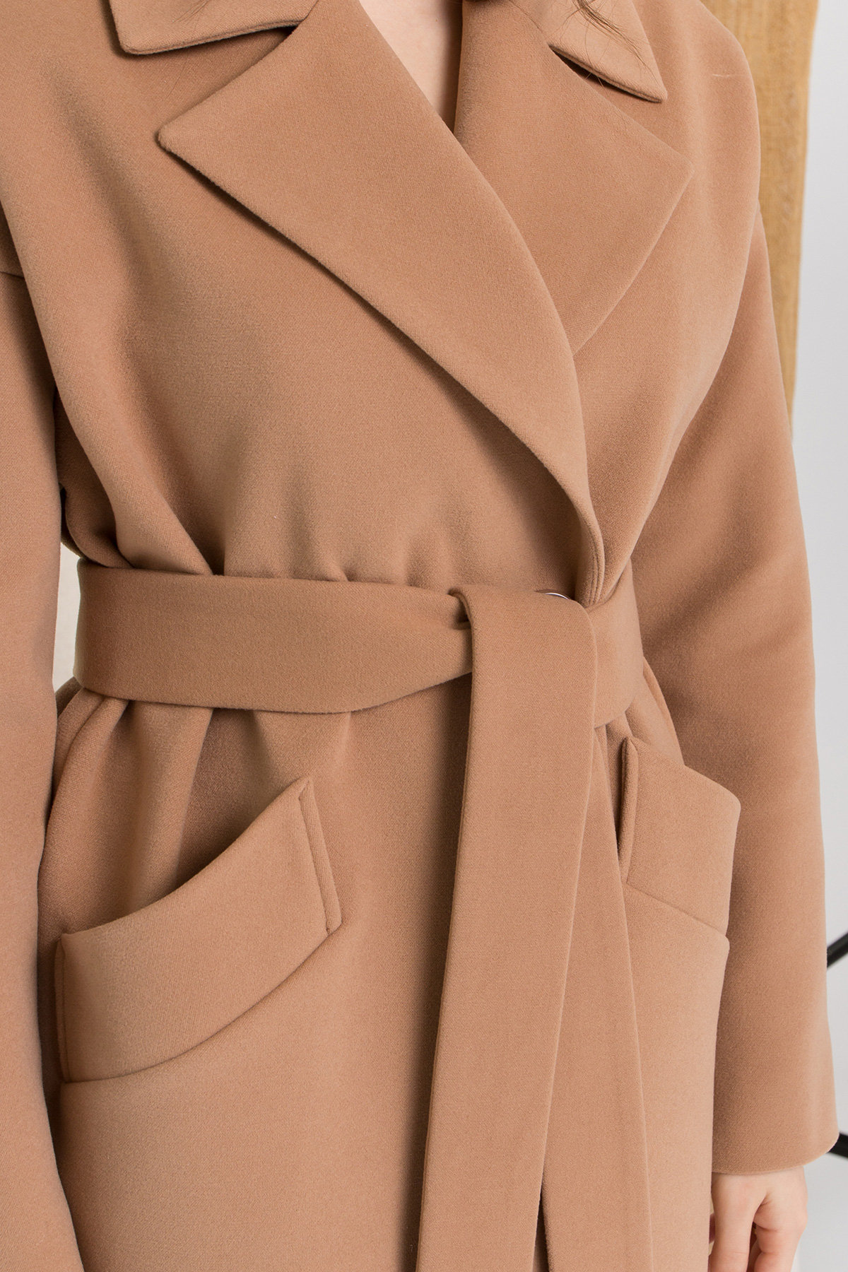 Пальто Сенсей 9006 АРТ. 45318 Цвет: Кемел - фото 12, интернет магазин tm-modus.ru
