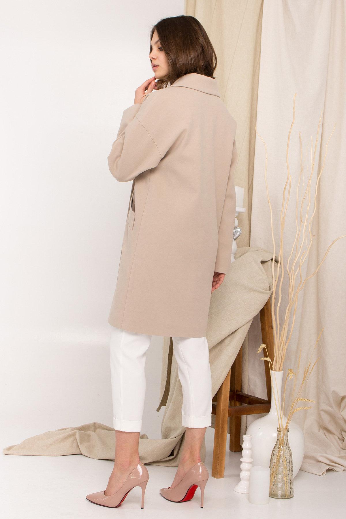 Пальто Сенсей 9006 АРТ. 45312 Цвет: Бежевый - фото 5, интернет магазин tm-modus.ru