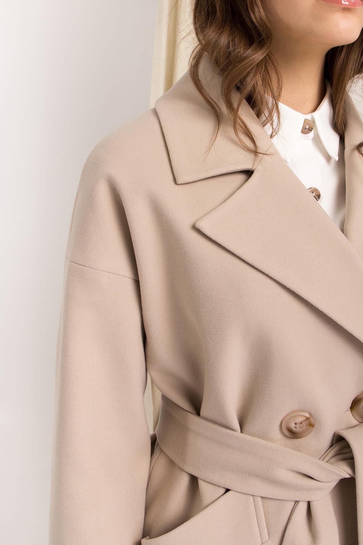 Пальто Сенсей 9006 АРТ. 45312 Цвет: Бежевый - фото 9, интернет магазин tm-modus.ru