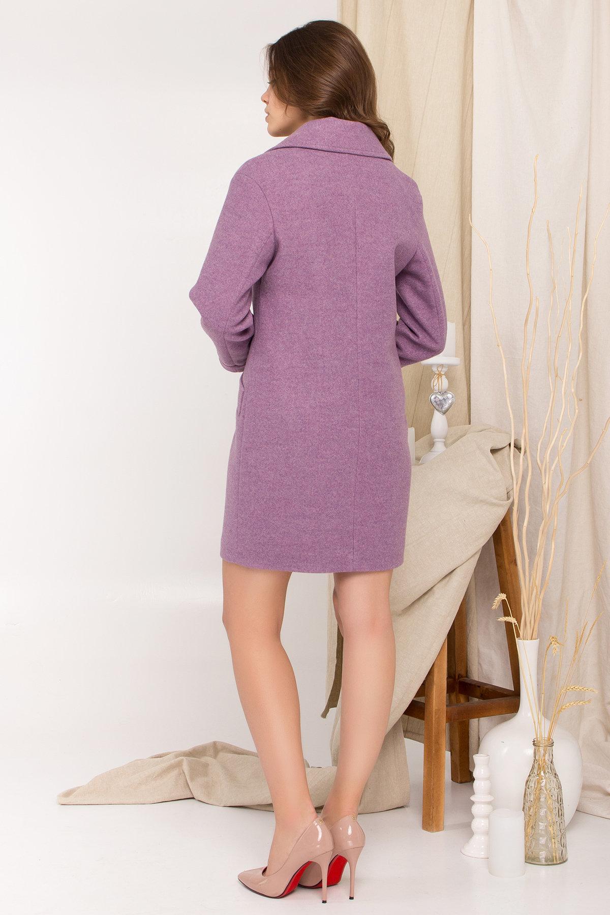 Пальто Вейсона 8801 АРТ. 45352 Цвет: Сирень 42 - фото 2, интернет магазин tm-modus.ru