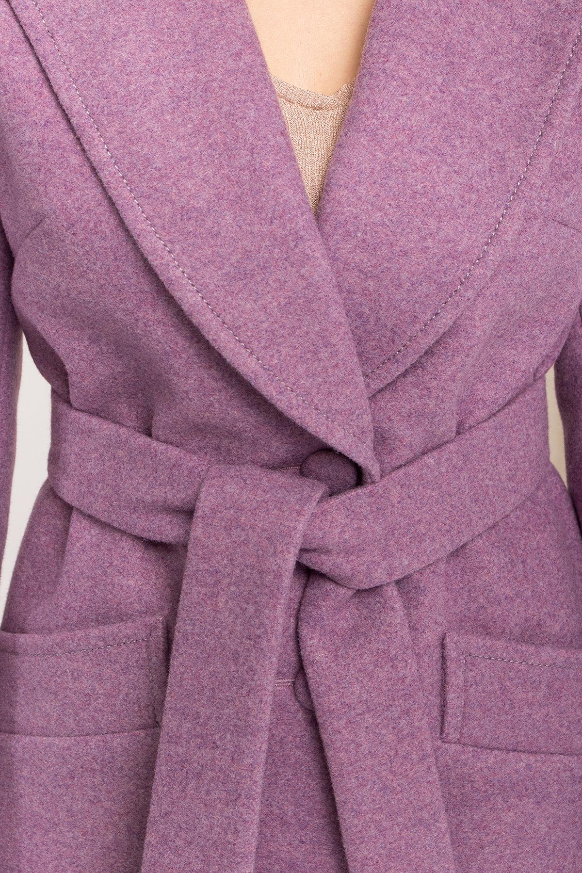 Пальто Вейсона 8801 АРТ. 45352 Цвет: Сирень 42 - фото 5, интернет магазин tm-modus.ru