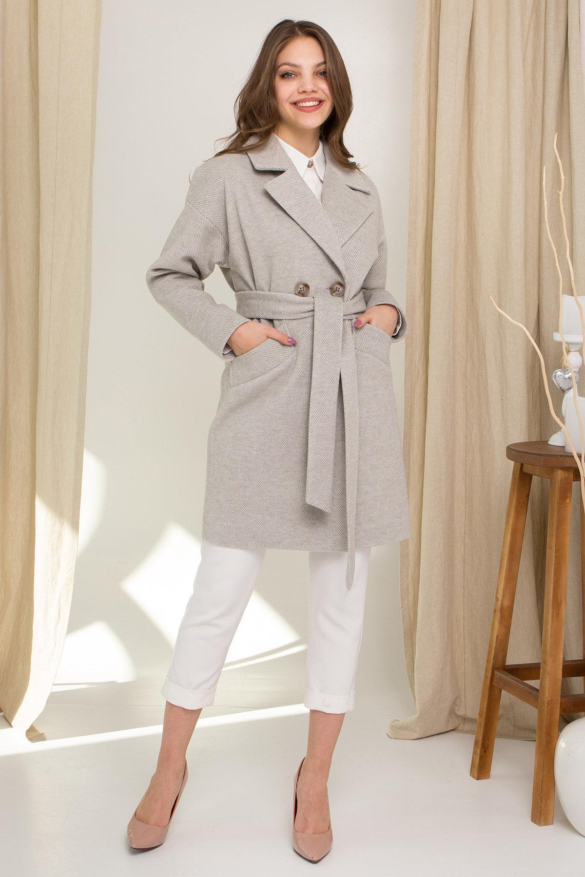 Купить демисезонное пальто от ТМ Modus Демисезонное двубортное пальто Сенсей 8845