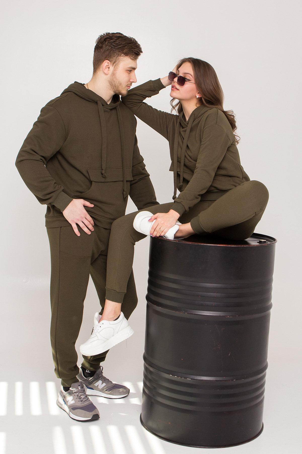 Хелс 3х нитка трикотаж прогулочный костюм 8957 (МУЖСКОЕ)