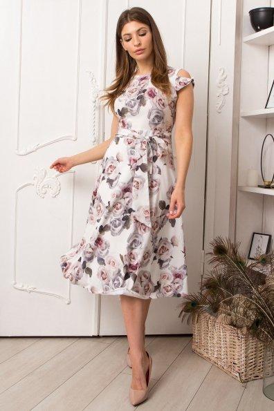 Жане миди софт принт платье 9097