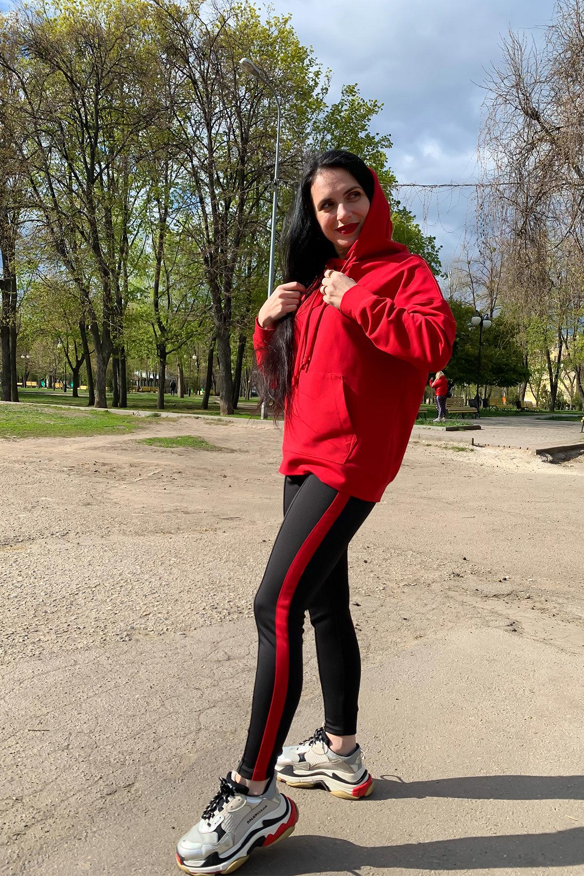 Костюм Вайт 9173 АРТ. 45493 Цвет: Красный/черный - фото 2, интернет магазин tm-modus.ru