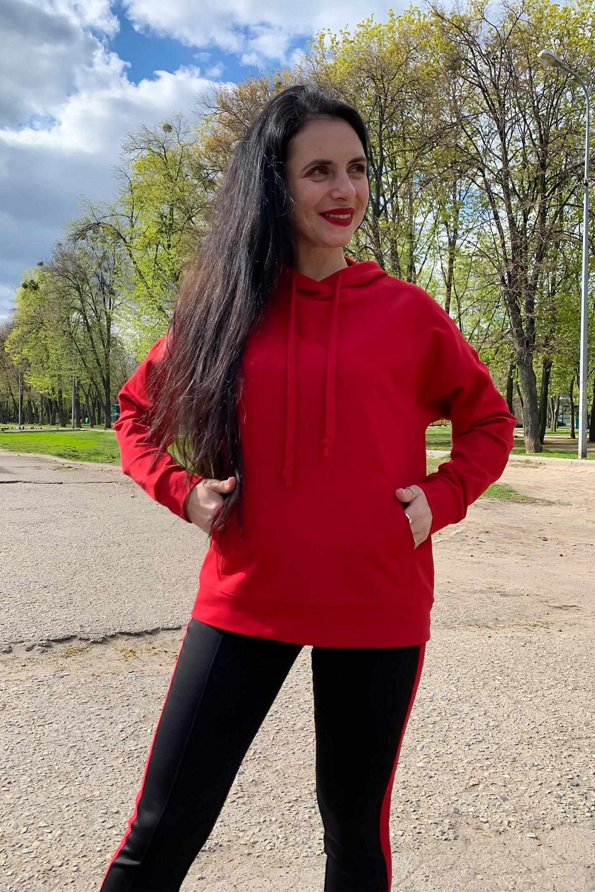 Костюм Вайт 9173 АРТ. 45493 Цвет: Красный/черный - фото 4, интернет магазин tm-modus.ru
