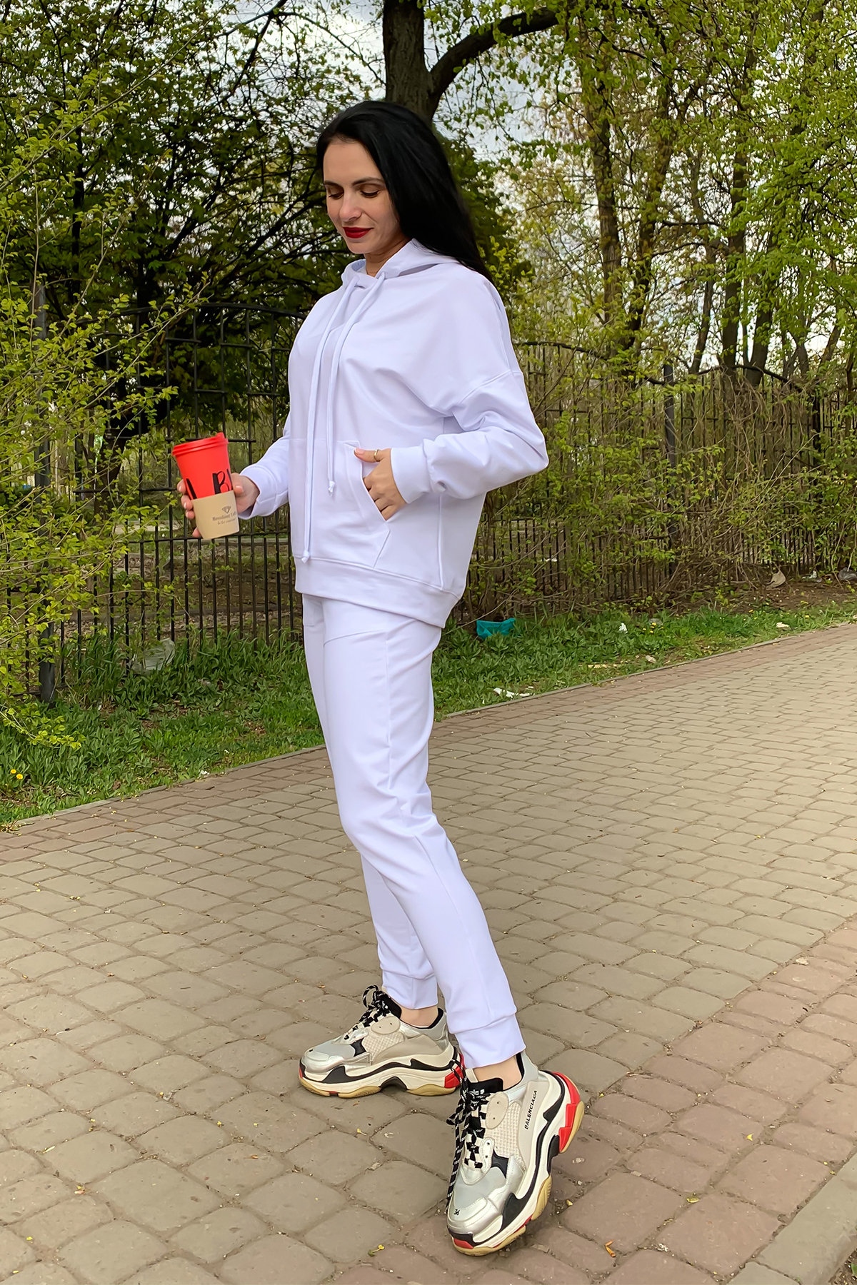 Костюм Викки 9177 АРТ. 45511 Цвет: Белый - фото 3, интернет магазин tm-modus.ru