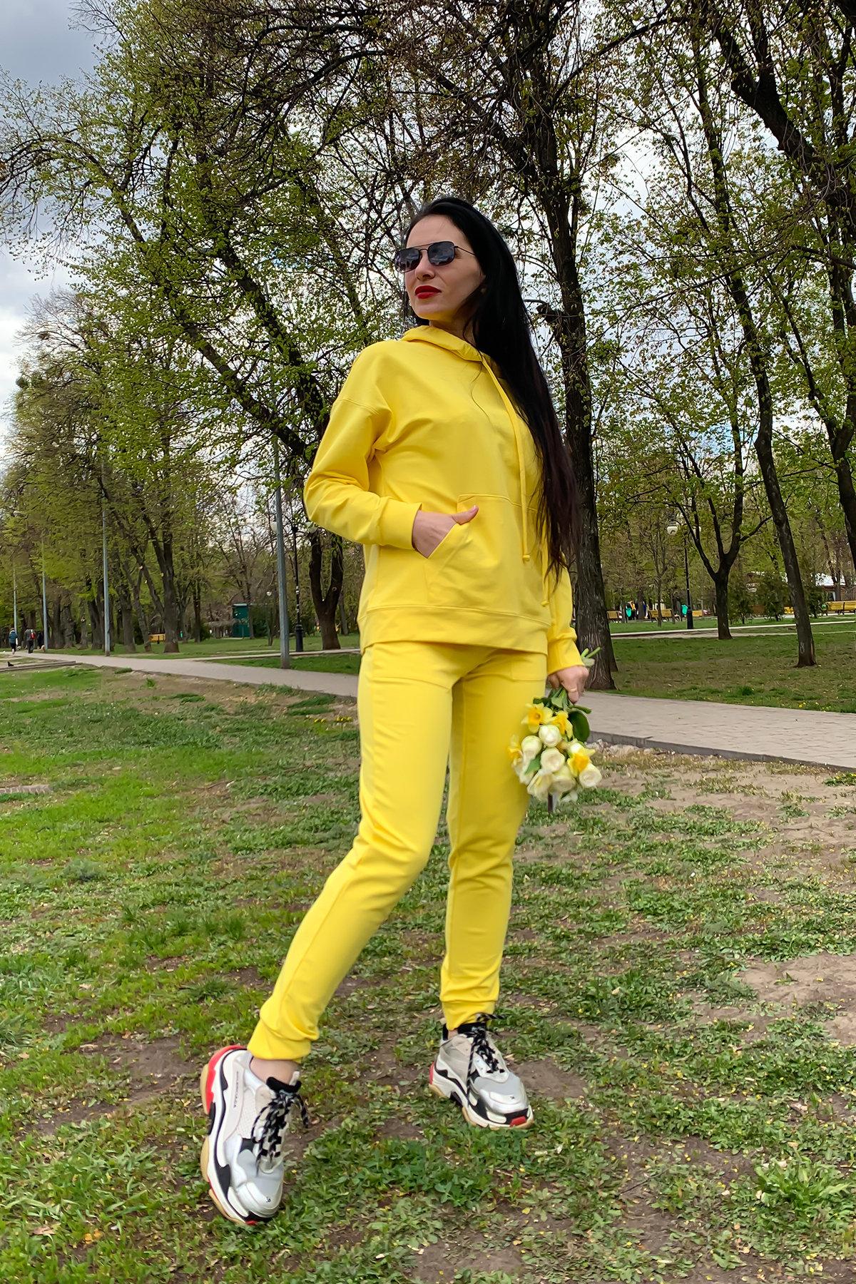 Костюм Викки 9177 АРТ. 45513 Цвет: Желтый - фото 5, интернет магазин tm-modus.ru